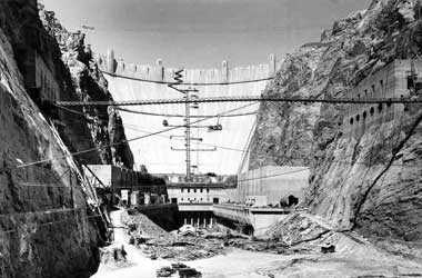 hoover dam construction